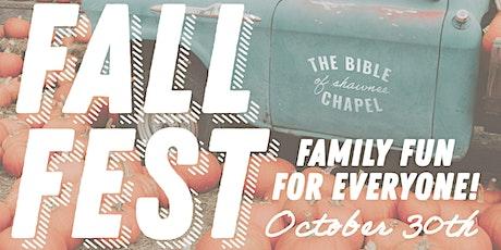 Family Fall Festival tickets