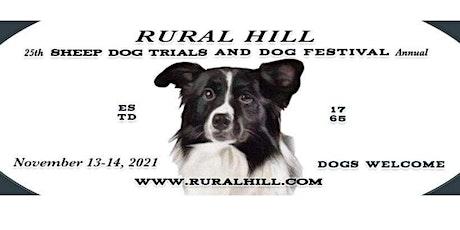 2021 Rural Hill Sheep Dog Trials tickets