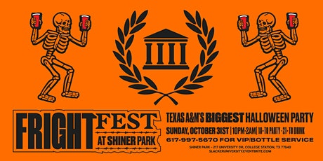 Fright Fest @ Shiner Park - Texas A&M's Biggest Halloween Party tickets