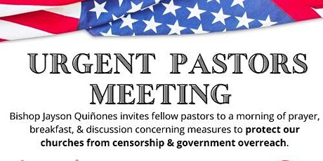 Urgent Pastors Meeting tickets