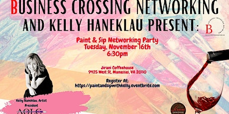 Paint & Sip Networking Party tickets