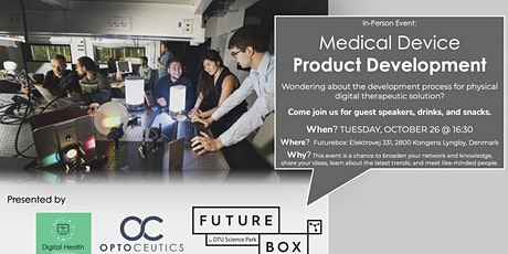 Medical Device Product Development (in-person meetup at Optoceutics) tickets