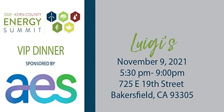 15th  Annual Energy Summit VIP Sponsor Dinner-INVITE ONLY tickets