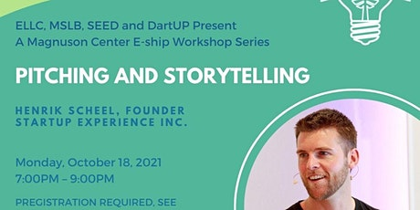Pitching and Storytelling  with Henrik Scheel tickets