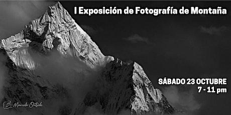 Exposición de Fotografía de Montaña boletos
