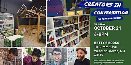 Creators in Conversation: The Power of Comics! tickets