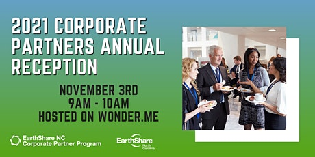 2021 Corporate Partners Annual Reception tickets