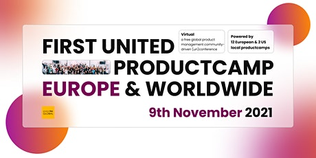ProductCamp Europe & Worldwide tickets