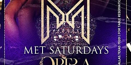 """Met Saturdays"" at Opera Every  Saturday tickets"