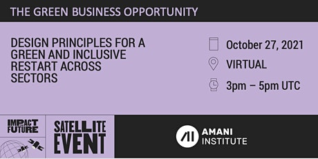 Impact the Future - Amani Satellite Event tickets