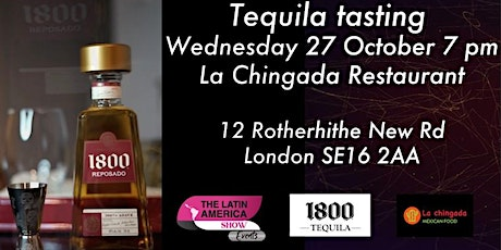 Tequila tasting, The Mexican experience tickets
