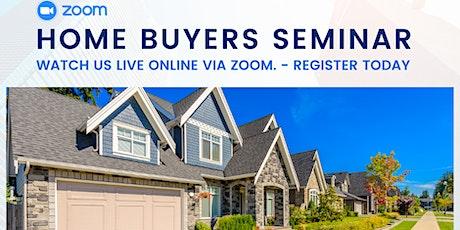 LIVE Home Buyers Seminar - Zoom Webinar tickets