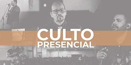 CULTO PRESENCIAL tickets