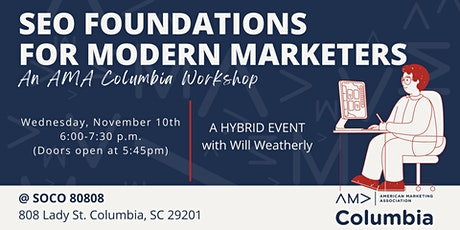 SEO Foundations for Modern Marketers: An AMA Columbia Workshop tickets