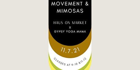Movement & Mimosas tickets