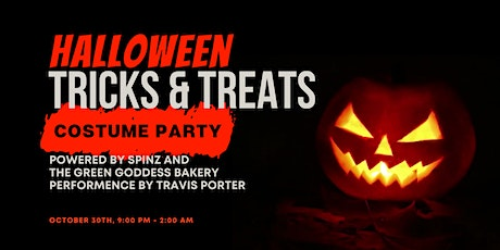 Tricks and Treats : Costume Party Powered by Travis Porter, Spinz, & GGB tickets