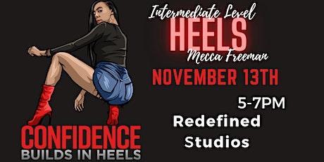 Confidence Builds In Heels Cincinnati (NOVEMBER 13TH Class) tickets