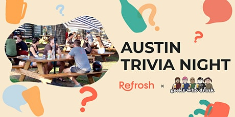 Pub Trivia with Geeks Who Drink + Refrosh tickets