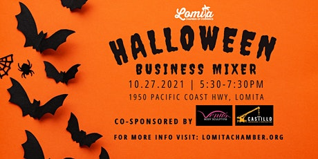 Lomita Chamber Halloween Business Mixer tickets