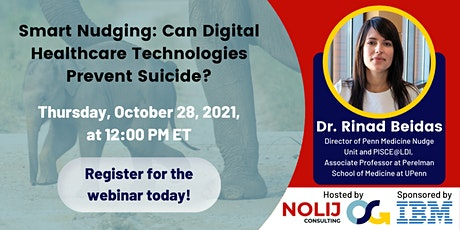 Smart Nudging: Can Digital Healthcare Technologies Prevent Suicide? biglietti