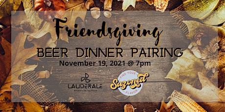 Friendsgiving Beer Dinner Pairing tickets