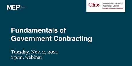 Fundamentals of Government Contracting tickets