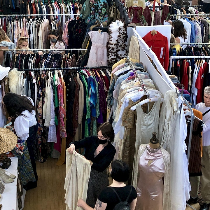 Frock Me Vintage Fashion and Jewellery Fair at Kensington Town Hall. image