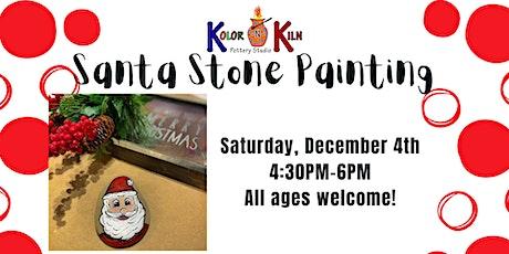 Santa Stone Painting tickets