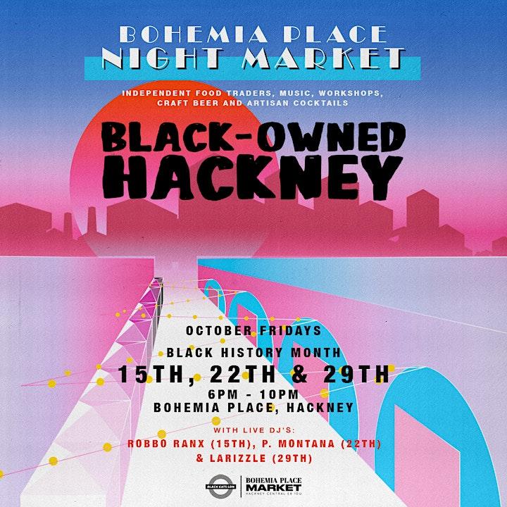 Black Owned Hackney Night Market image