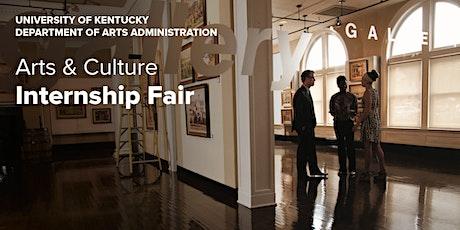 Arts & Culture Internship Fair tickets