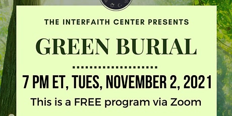 Green Burial tickets