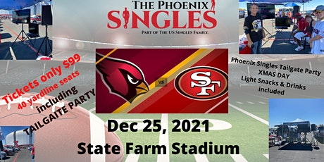 Phoenix Singles X-Mas Day Football tickets