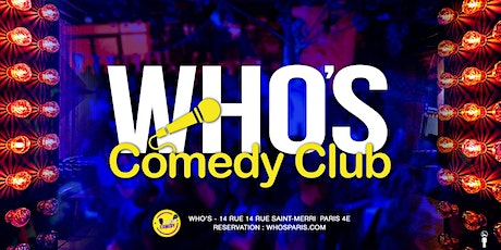 Who's Comedy billets