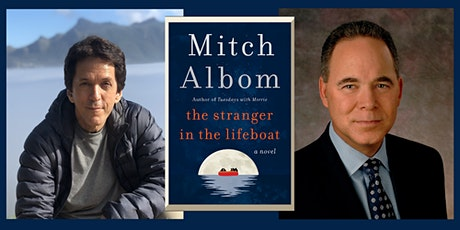 """An Evening with MITCH ALBOM: """"The Stranger in the Lifeboat"""" tickets"""