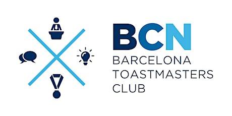 [Online] BCN Toastmasters - Español bilhetes