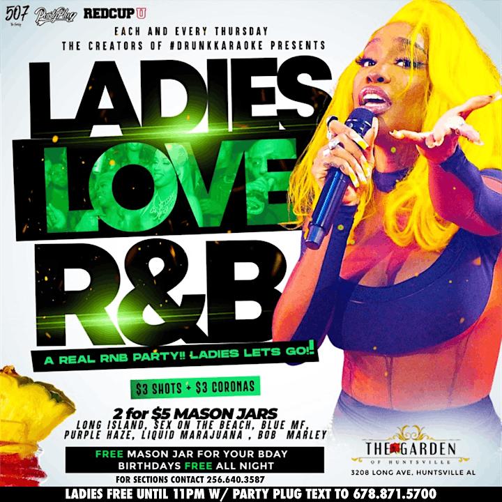 Ladies Love R&B Thursdays image