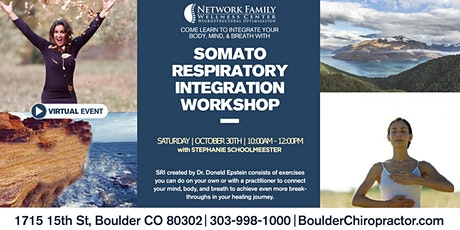 Somatic Respiratory Integration Workshop By Stephanie Hershey Schoolmeester tickets