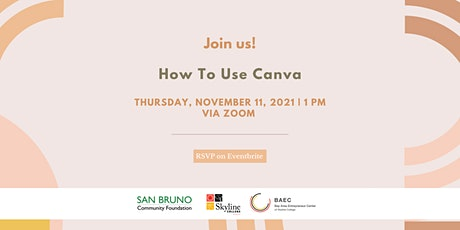 How To Use Canva Tickets