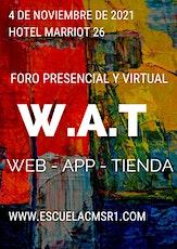 Foro WAT - Web - App - Tienda entradas