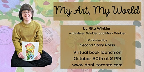 My Art, My World - Book launch tickets