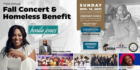 Fall Concert and Homeless Benefit tickets