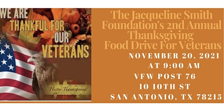 Thanksgiving Food Drive For Veterans tickets