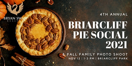 4th Annual Briarcliff Pie Social and Fall Family Photo Shoot tickets