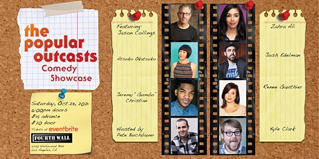 The Popular Outcasts Comedy Showcase tickets