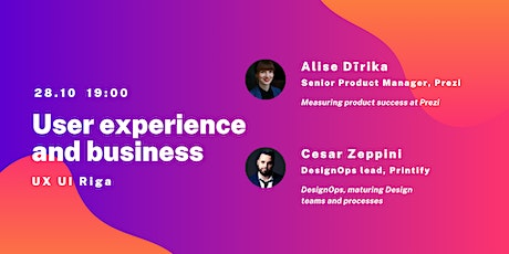 User experience and business tickets