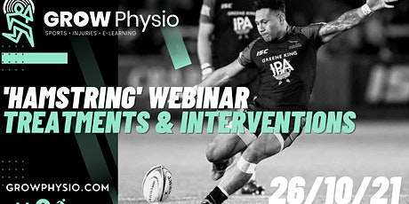 Sporting 'Hamstring': Practical Treatments & Interventions Webinar tickets