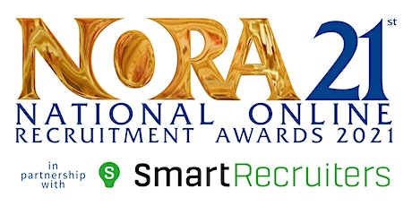 The National Online Recruitment Awards 2021 tickets