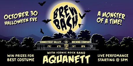 Brew Bash - Halloween Eve @ Connecticut Valley Brewing Co. tickets