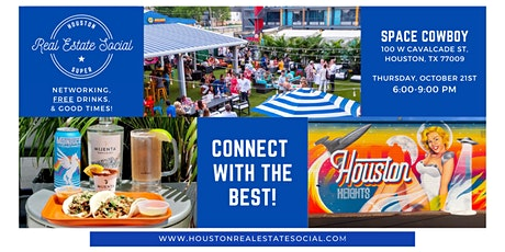 Houston Real Estate Social 10/21/21 tickets