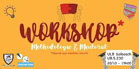 Workshop Méthodologie & Mentorat billets